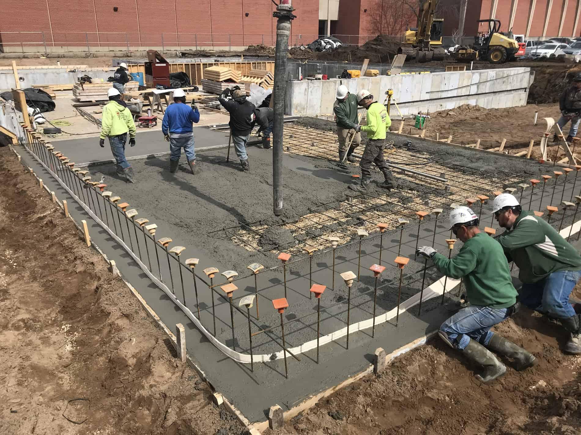 3-20-19 concrete pour 2
