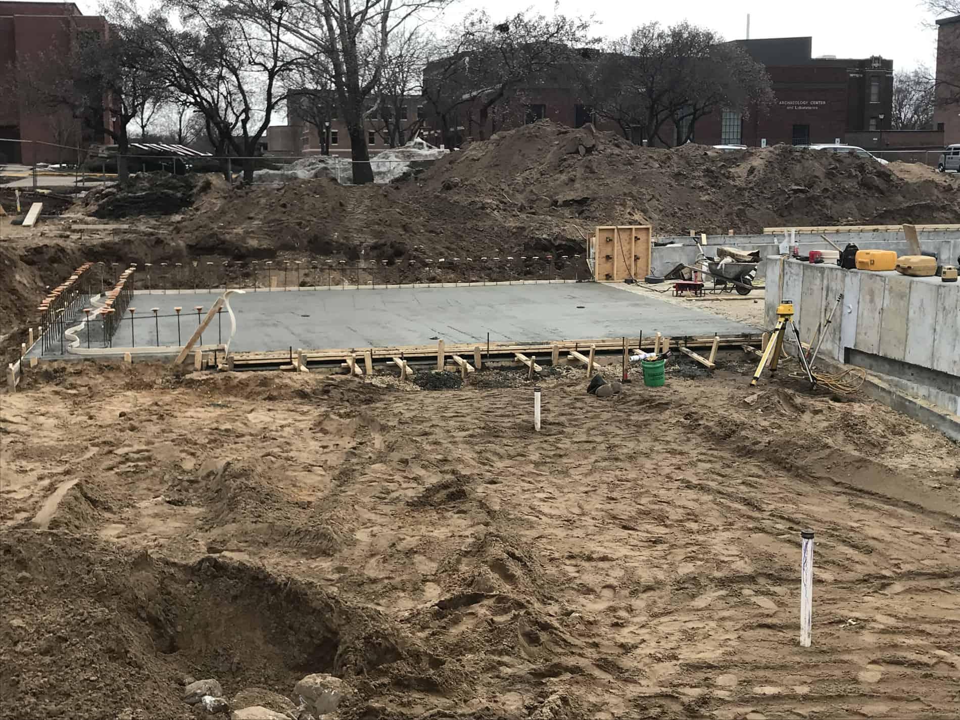 3-20-19 concrete pour complete
