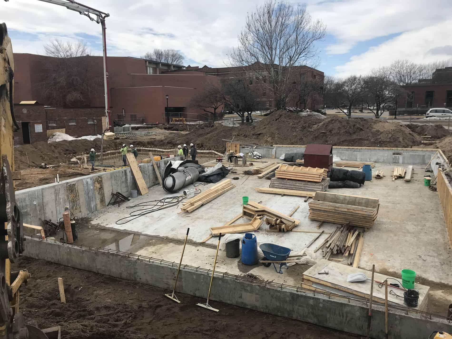 3-20-19 concrete pour
