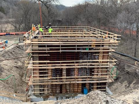 Lanesboro Concrete Pour 4-5-21-1