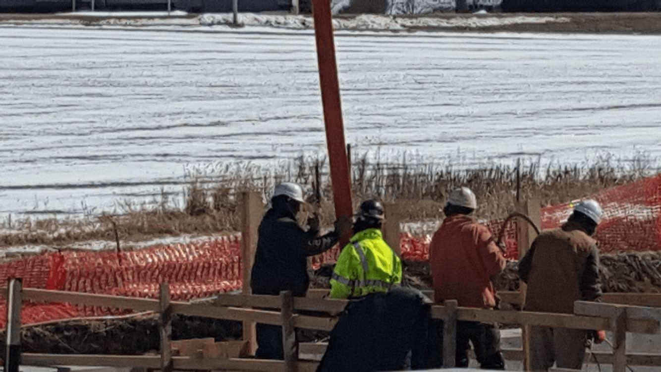 Pouring Walls #4 3-14-18